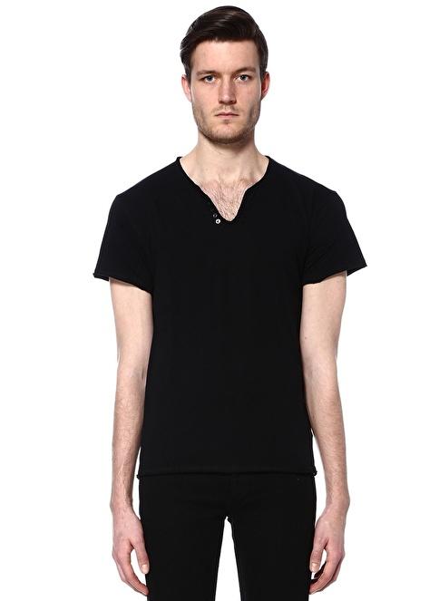 Zadig&Voltaire V Yaka Tişört Siyah